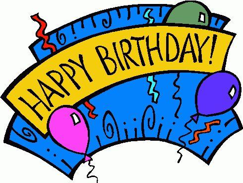490x368 Beautiful Happy Birthday Clip Art Images