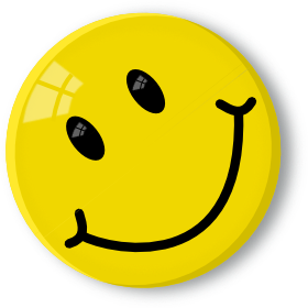 280x280 Happy Smiley Face Clip Art
