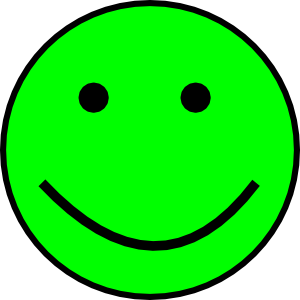 300x300 Happy Smiling Face Clip Art