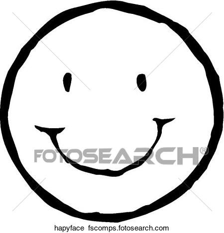 450x469 Clip Art Of Face 49 F2 Face49
