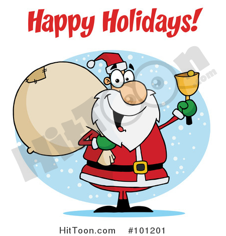 450x470 Christmas Greeting Clipart