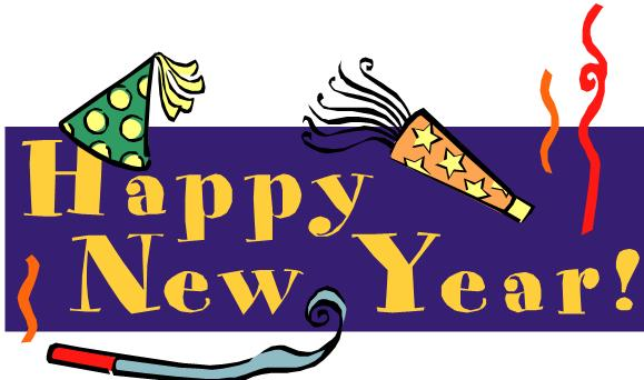 579x342 Happy New Year Banner Clip Art Happy New Year Free Png Image