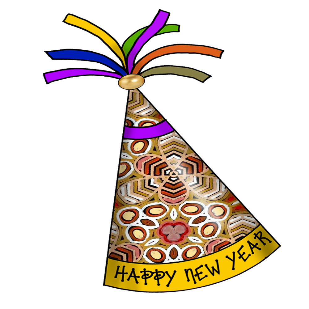 1000x1000 Hat New Year Clip Art New Year Clipart Hat Clip 3