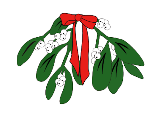 640x479 Mistletoe Clip Art