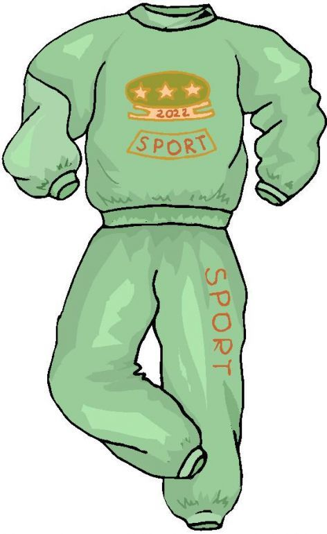 472x770 Clothing Clip Art Free