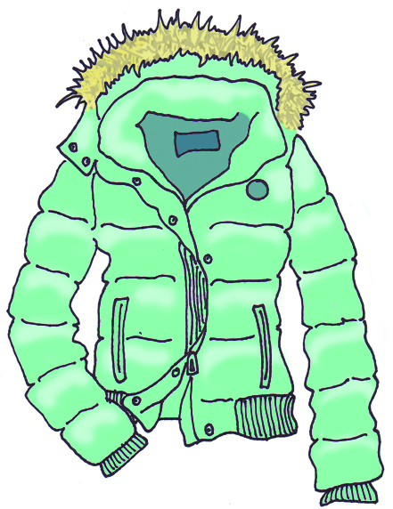 441x572 Jacket Winter Coat Clipart Image