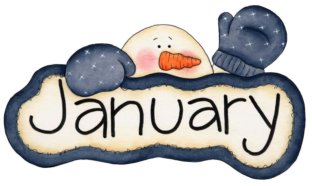 Free Clipart January