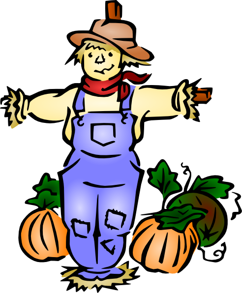 492x596 Scarecrow Clip Art For Kids Free Clipart Images