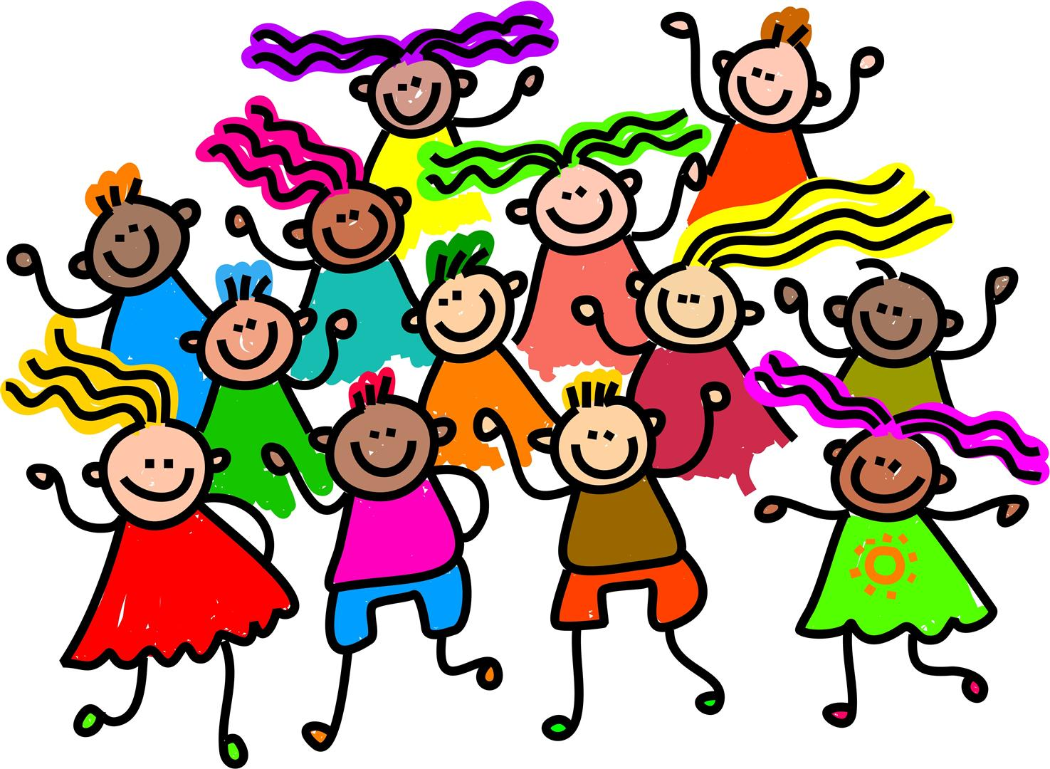 1475x1080 Clipart Kids Dancing