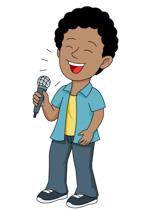 151x210 Singing Clip Art