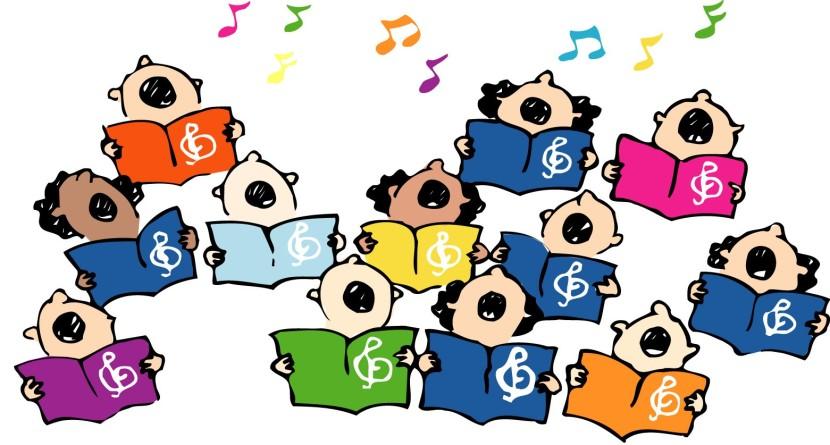 830x445 Women Choir Singing Clip Art