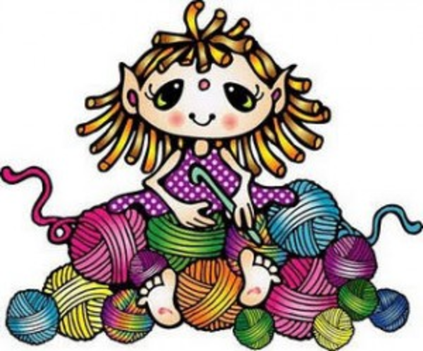 600x498 Free Knitting Clipart