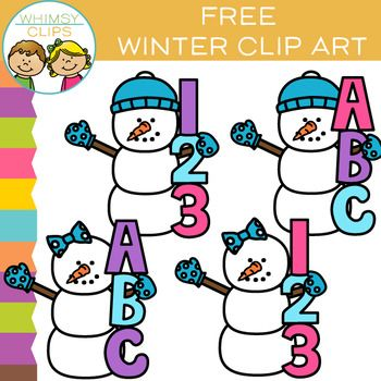 Free Clipart Letters And Numbers