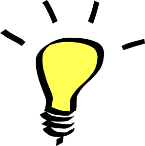 297x298 Light Bulb Clip Art
