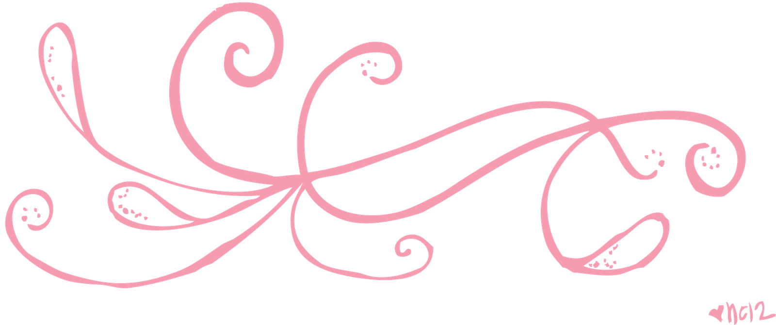 1600x670 Lines Clipart Pink