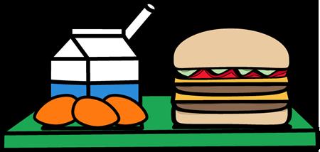 450x214 School Lunch Clip Art