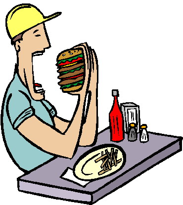 370x415 Eating Lunch Clipart Free Clipart Images 2