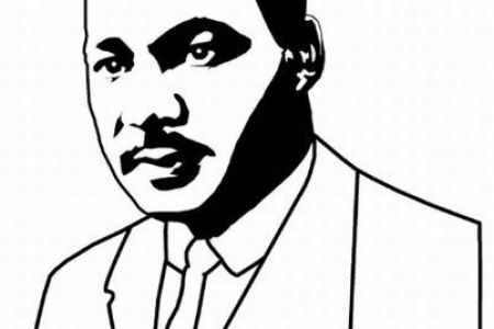 450x300 Martin Luther King Jr Clip Art