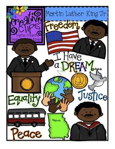 236x305 Clip Art Of Dr.martin Luther King With Children Of The World