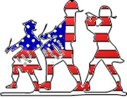 256x200 Memorial Day Parade Clipart