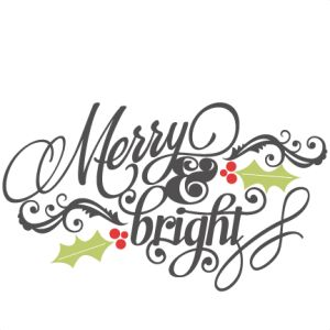 Free Clipart Merry Christmas