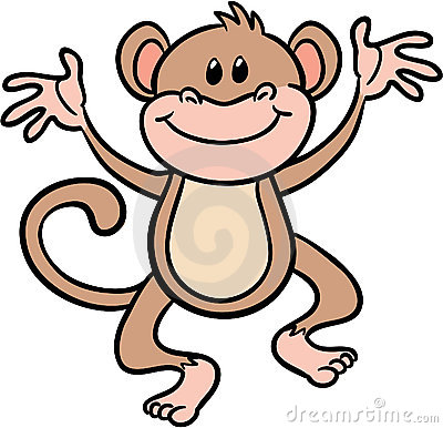 400x386 Clip Art Monkeys