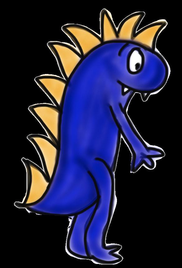 585x862 Free Monster Clip Art