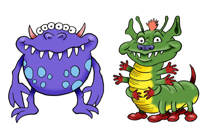 680x459 Monster Clip Art Cartoon Free Clipart Images 4 Wikiclipart