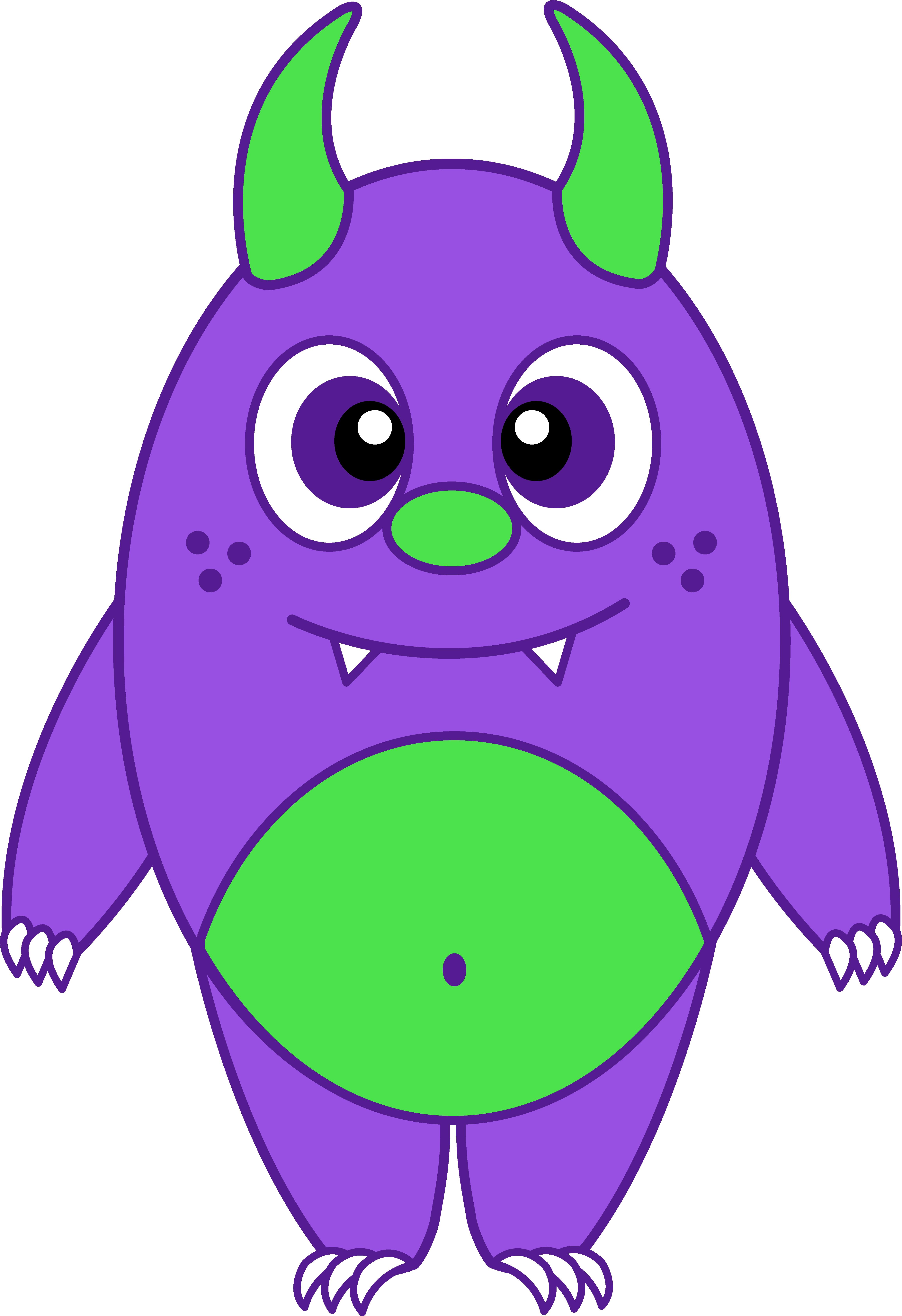 4611x6729 Silly Little Purple Monster