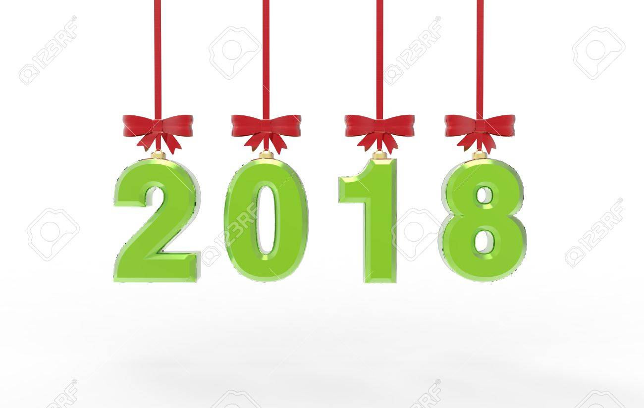 1300x824 Happy New Year 2018 Stock Photo, Picture And Royalty Free Image