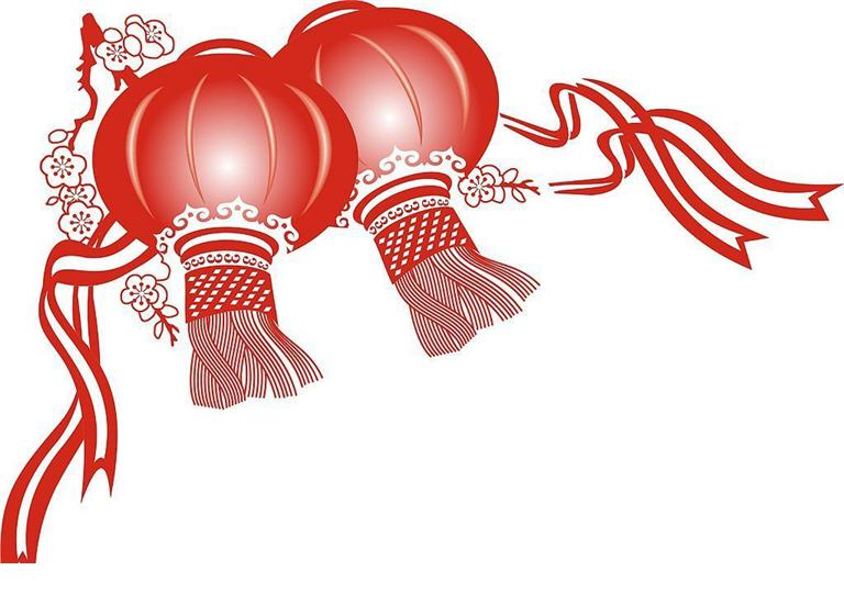 768x540 Asians Clipart Chinese New Year Decoration