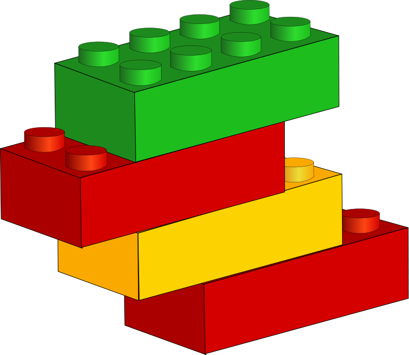 800x695 Toy Clipart Number Block