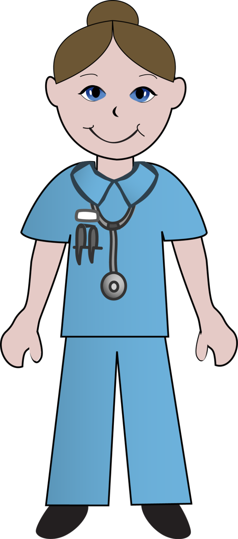 640x1449 Free Clip Art School Nurse Clipart Image 1