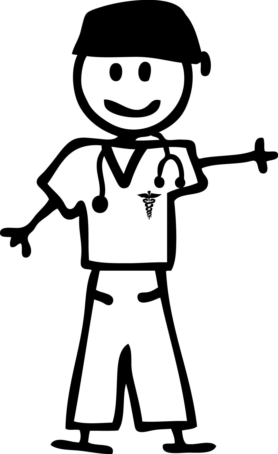 1084x1773 Nurse Clipart Man