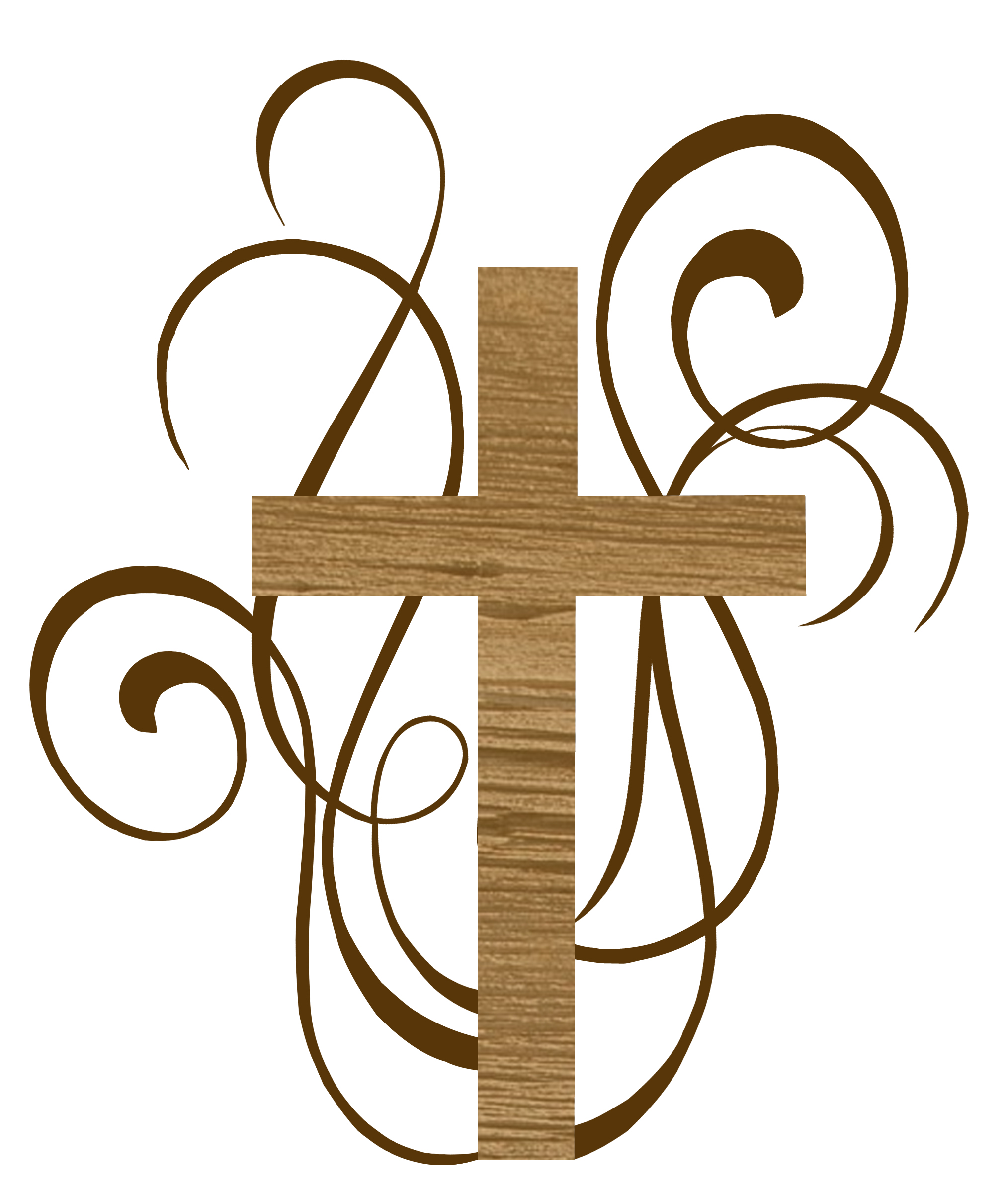 2028x2400 Funeral Clipart Simple Cross