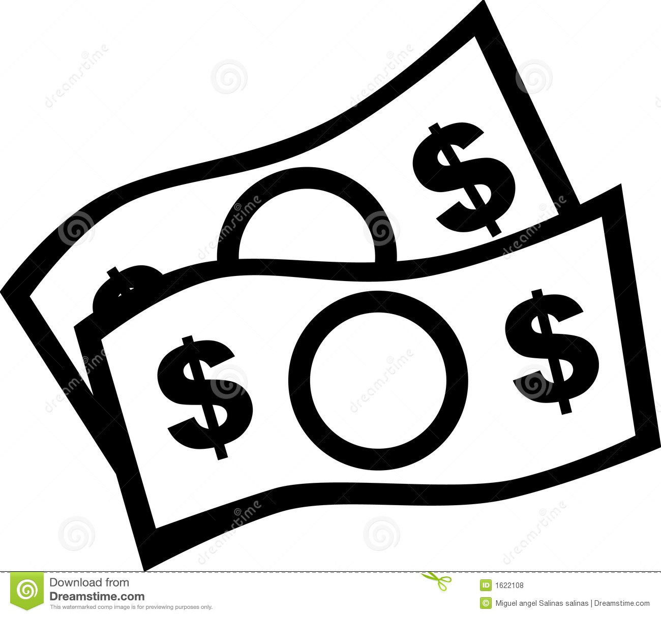 1300x1214 Money Clipart Money Bill