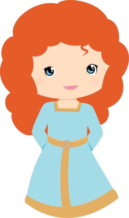 535x900 Free Princess Merida Brave Clip Art