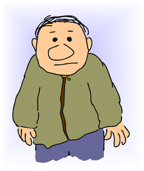 504x600 Clipart Man Old