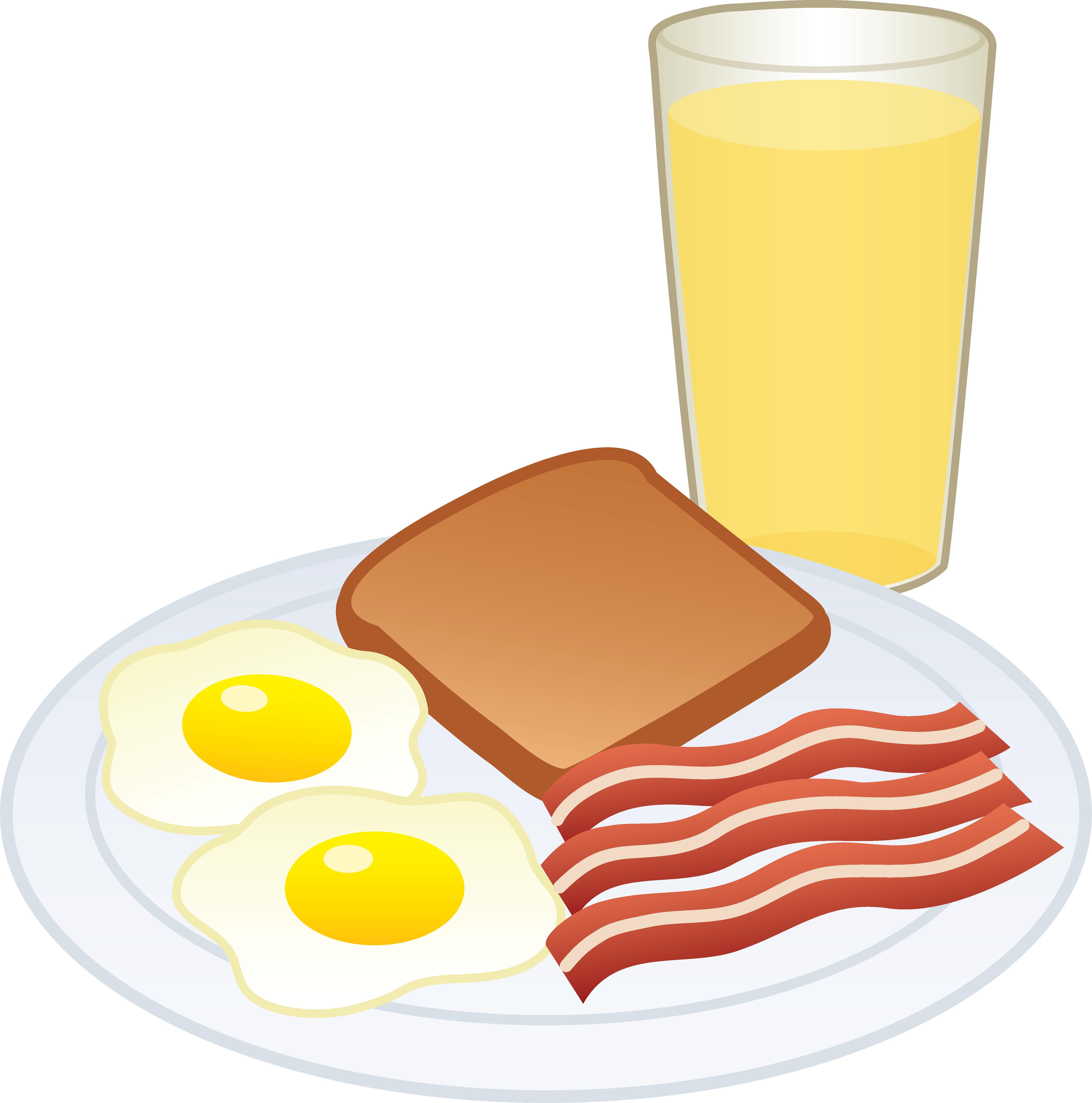 5350x5406 Pancake Clipart Breakfast Plate