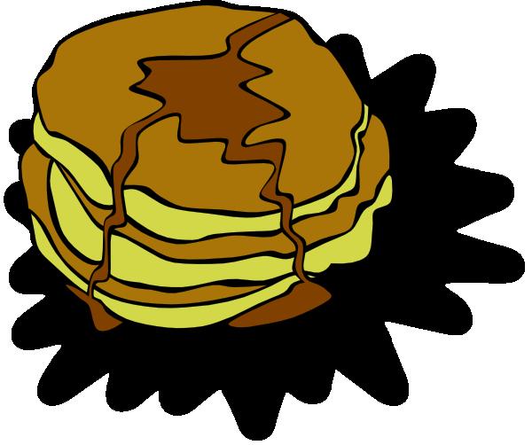 600x502 Pancakes Clip Art