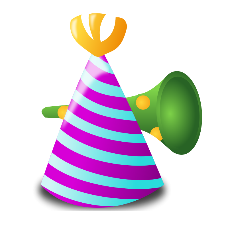 800x800 Free Party Clipart