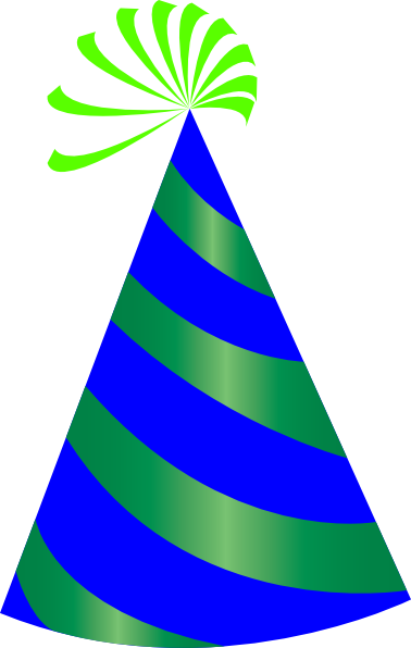 378x596 Party Hat Clipart Transparent Background