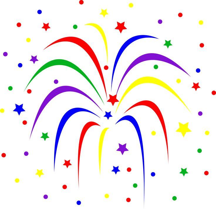 736x712 Fireworks Clipart Public Domain