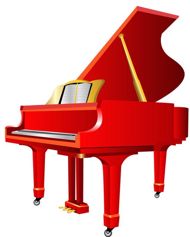 642x800 Instruments Clipart Piano