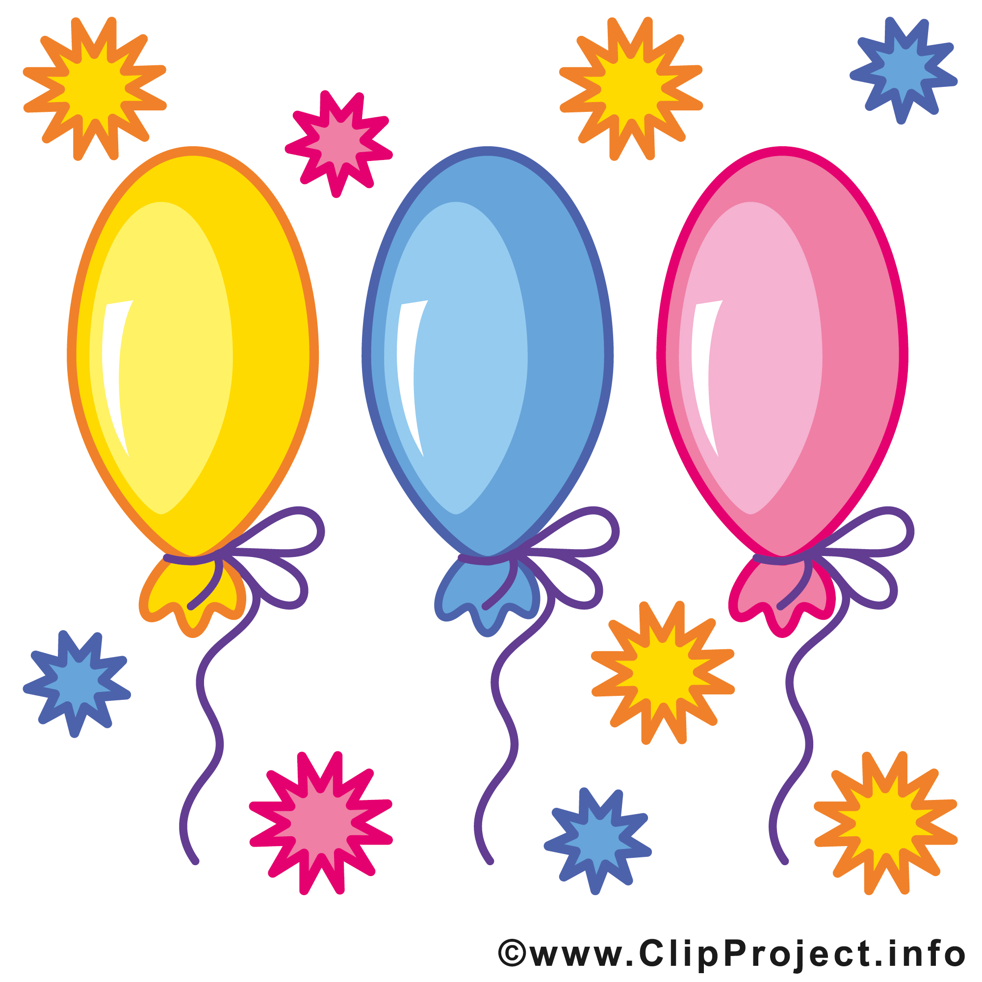 2002x2001 Birthday Clipart Images