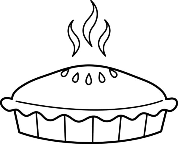 600x484 Pie Coloring Page Pie Coloring Page Free Clip Art Free
