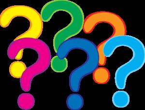 300x228 Coloured Question Marks Clip Art