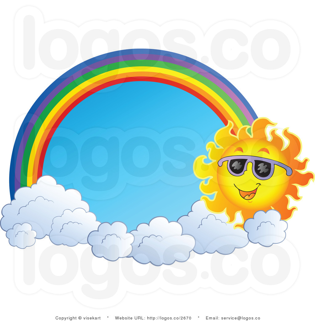 1024x1044 Rainbow Clipart The Sky