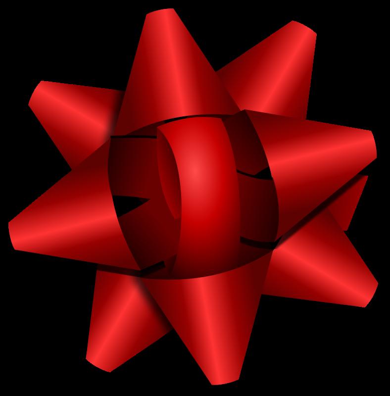 788x800 Free Red Star Ribbon Clip Art
