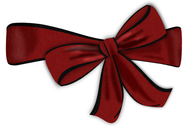 600x412 Red Bow With Black Edge Clipartu200b Gallery Yopriceville